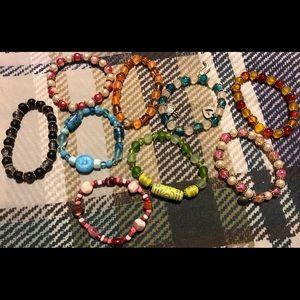 Jewelry - Lot 1 ** 9 Home made Bracelets